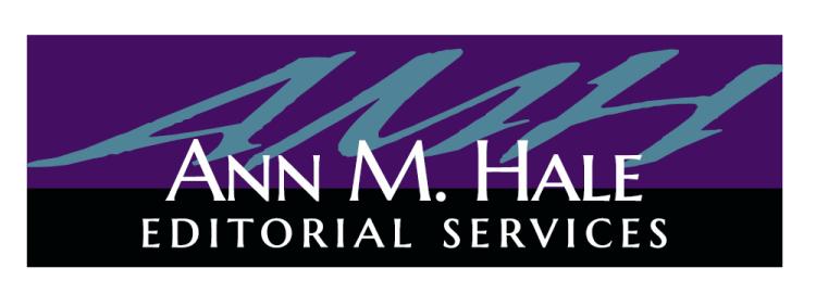Ann M. Hale Editorial Services Logo