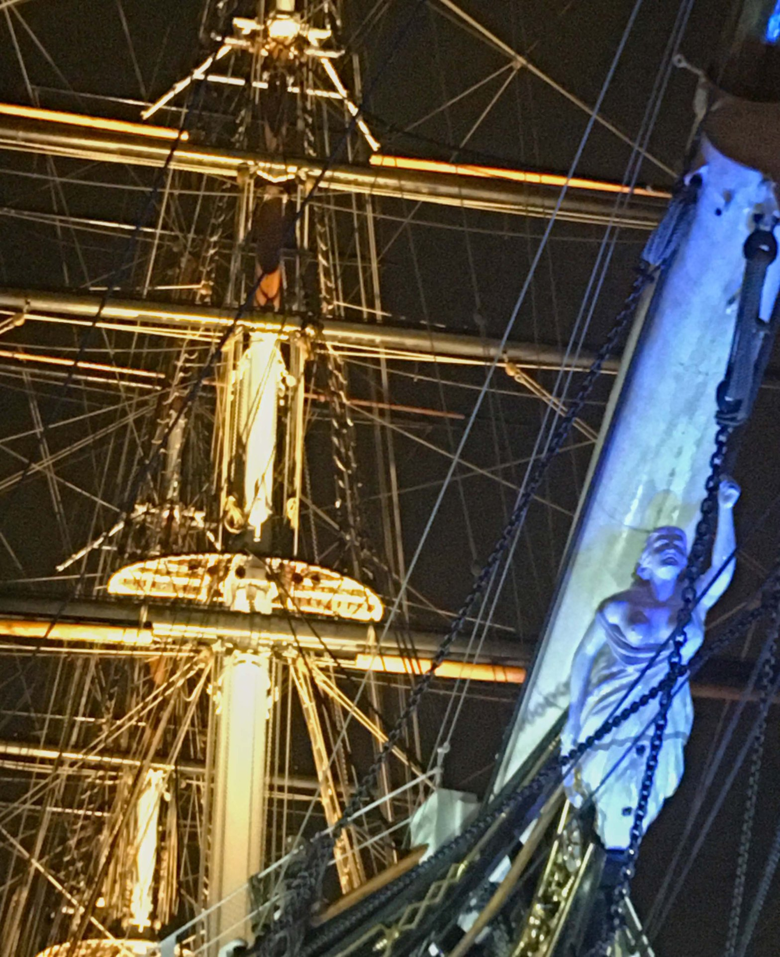 Photograph of the Cutty Sark, Greenwich, London